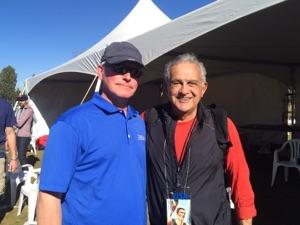Brent Friesth and Coach Joe Vigil