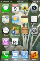 Your desk top icon is now on your home screen for easy access to the Bolder Insurance Mobile site