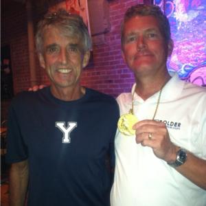 Gold Medalist, Frank Short & Bolder Insurance Owner Brent Friesth
